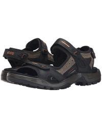 Ecco - Men's Yucatan Sandals - Lyst