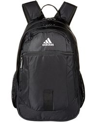 adidas - Foundation Iv Backpack (black/white) Backpack Bags - Lyst
