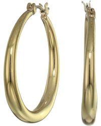 Lauren by Ralph Lauren - Gradual Hoop Earrings (gold) Earring - Lyst