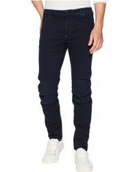 G-Star RAW - 5620 3d Slim Colored Jeans In Sartho Blue (sartho Blue) Men's Jeans - Lyst