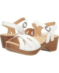 Dansko - Season (gold Crinkle) Women's Shoes - Lyst