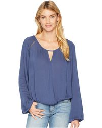 Stetson - 2078 Crinkle Crepe (blue) Women's Clothing - Lyst