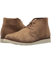 d6301cbda9 Lyst - Vans Desert Chukka Women Round Toe Leather Tan Chukka Boot in ...