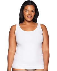 Yummie - Plus Size 6-in-1 Shaping Tank Top W/ Bonded Construction (black) Women's Sleeveless - Lyst