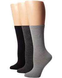 Lauren by Ralph Lauren | Classic Flat Knit Trouser 3 Pack | Lyst