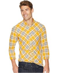 Publish - Chet - Long Sleeve Flannel (red) Men's Long Sleeve Button Up - Lyst