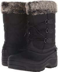 Tundra Boots - Dot (black/grey) Women's Cold Weather Boots - Lyst