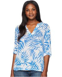 Tommy Bahama - Fronds With Benefits Pullover (cobalt Sea) Women's Clothing - Lyst
