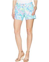 Lilly Pulitzer - Callahan Knit Shorts (multi Boho Batik) Women's Shorts - Lyst