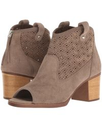 Dirty Laundry - Trixie Peep Toe Bootie - Lyst