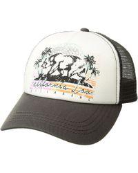 d27ddbbe0f2 Billabong - Retro Bear Hat (charcoal) Baseball Caps - Lyst