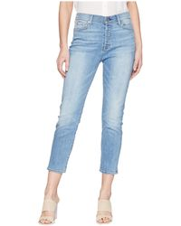 7 For All Mankind - High-waist Josefina W/ Distress In Heritage Valley 4 - Lyst