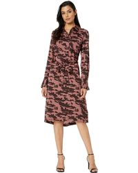 Kenneth Cole - City Shirtdress (urban Reflect Multi) Women's Dress - Lyst