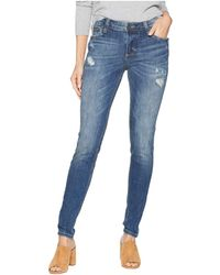 Kut From The Kloth - Mia Toothpick Skinny Notch Front Pocket Jeans In Rallied (rallied/medium Base Wash) Women's Jeans - Lyst
