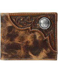Ariat - Bifold Distressed Wallet (tan) Wallet Handbags - Lyst
