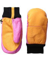 Hestra - Omni Mitt (orange/pink) Ski Gloves - Lyst