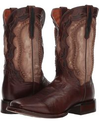 Dan Post - Boundary (brass Leather) Cowboy Boots - Lyst