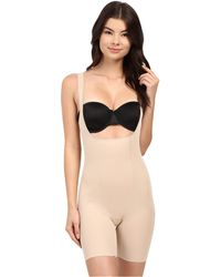 305335fb8fa Miraclesuit - Back Magic Extra Firm Torsette Thigh Slimmer (black) Women s  Underwear - Lyst