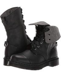 Dr. Martens - Aimilita (dark Brown Darkened Mirage) Women's Shoes - Lyst