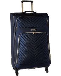 Kenneth Cole Reaction - Chelsea - 28 Quilted Expandable 4-wheel Upright Pullman (navy) Luggage - Lyst