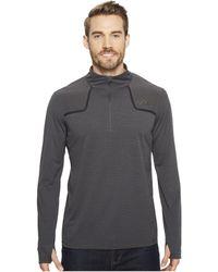 The North Face - Kilowatt 1/4 Zip (tnf Dark Grey Heather) Men's Sweatshirt - Lyst