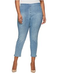 NYDJ - Plus Size Alina Pull-on Ankle In Clean Dreamstate (clean Dreamstate) Women's Jeans - Lyst