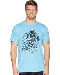 Psycho Bunny - Tropical Bunny T-shirt - Lyst