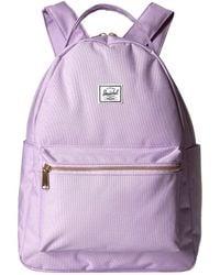 e2d01e409dd Herschel Supply Co. - Nova Mid-volume (pink Lady Crosshatch) Backpack Bags