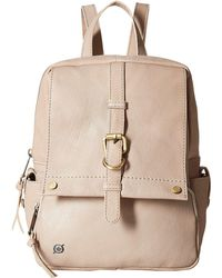 Born - Savor Bronco Leather Backpack (dove) Backpack Bags - Lyst