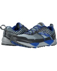 d3864fbc623 Brooks - Cascadia 13 (grey black orange) Men s Running Shoes - Lyst