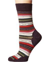 Smartwool - Margarita (bordeaux Heather) Women's Crew Cut Socks Shoes - Lyst