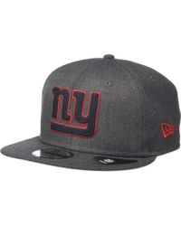 Lyst - Ktz New York Giants Pinned Snap (blue) Baseball Caps in Blue ... c0f00f3c1