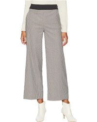 Boutique Moschino - Wide Leg Pants (checkered) Women's Casual Pants - Lyst