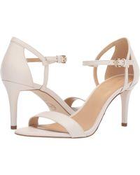 3e8dcb2d8beb MICHAEL Michael Kors - Simone Mid Sandal (silver sand Glitter) Women s  Sandals -