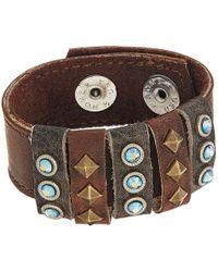 Leatherock - Chelsea Bracelet - Lyst