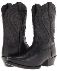 Ariat - Legend Phoenix (black Deertan) Cowboy Boots - Lyst