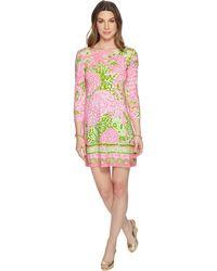 Lilly Pulitzer - Upf 50+ Sophie Dress (pink Sunset Home Slice) Women's Dress - Lyst