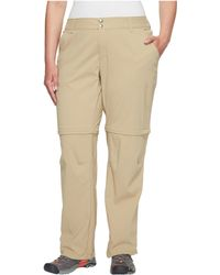 ee4ce59b66e44f DKNY Convertible Linen/silk Cargo Pants in White - Lyst