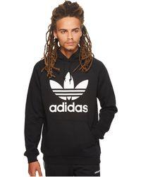 Adidas Originals | Trefoil Hoodie | Lyst
