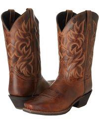 Laredo - Breakout (rust Distressed) Cowboy Boots - Lyst