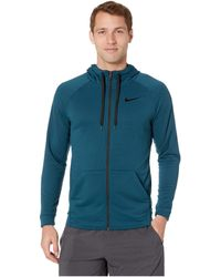 ac8be0cb386199 Nike - Dry Training Full-zip Hoodie (dark Grey Heather black black