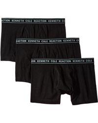 Kenneth Cole Reaction - 3-pack Basic Trunk (cobalt/light Grey/sulphar) Men's Underwear - Lyst