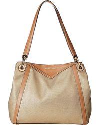 2a8df93ba0c3 MICHAEL Michael Kors - Raven Large Pocket Shoulder Tote (pale Gold) Tote  Handbags -