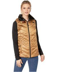 The North Face - Mossbud Insulated Reversible Vest (metallic Copper/tnf Black) Women's Vest - Lyst