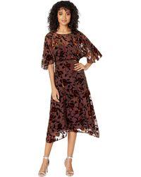 Astr - Sadie Dress (golden Rust Floral) Women's Dress - Lyst