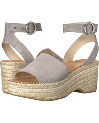 0cac4a1aec3 Dolce Vita - Lesly Sandal Grey Suede - Lyst