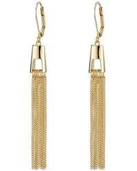 Cole Haan - Architectural Fringe Earrings - Lyst