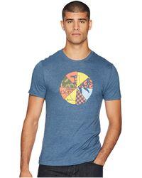 Original Penguin - Wheel Of Pete T-shirt (vintage Indigo) Men's T Shirt - Lyst