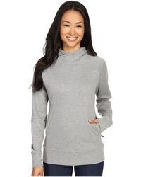 Fjallraven - High Coast Hoodie (grey) Women's Sweatshirt - Lyst