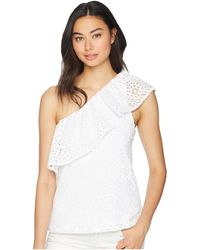 Lilly Pulitzer - Matteo Top (resort White Sea Urchin Terry Lace) Women's Clothing - Lyst